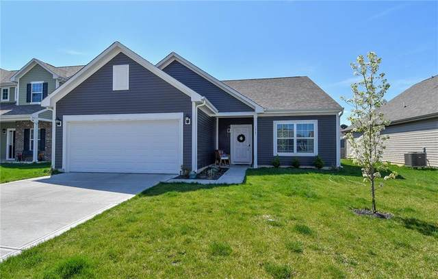 1247 Brookdale Court, Franklin, IN 46131 (MLS #21777600) :: The Indy Property Source