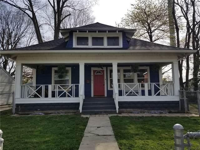 4151 Winthrop Avenue, Indianapolis, IN 46205 (MLS #21777609) :: Corbett & Company