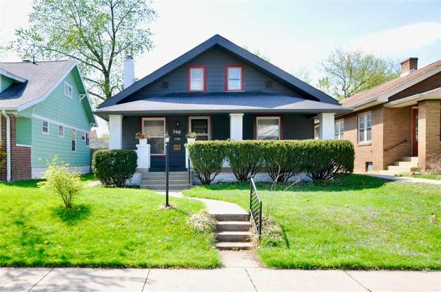 746 N Riley Avenue, Indianapolis, IN 46201 (MLS #21777657) :: Anthony Robinson & AMR Real Estate Group LLC