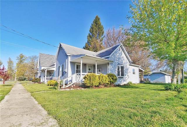 826 W 2ND Street, Rushville, IN 46173 (MLS #21777765) :: RE/MAX Legacy