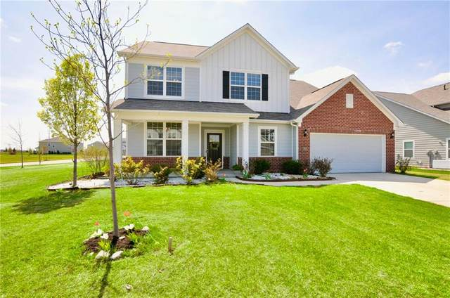 12713 Amber Star Drive, Noblesville, IN 46060 (MLS #21777805) :: The Indy Property Source