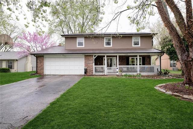 309 S Sunblest Boulevard, Fishers, IN 46038 (MLS #21777844) :: Heard Real Estate Team | eXp Realty, LLC