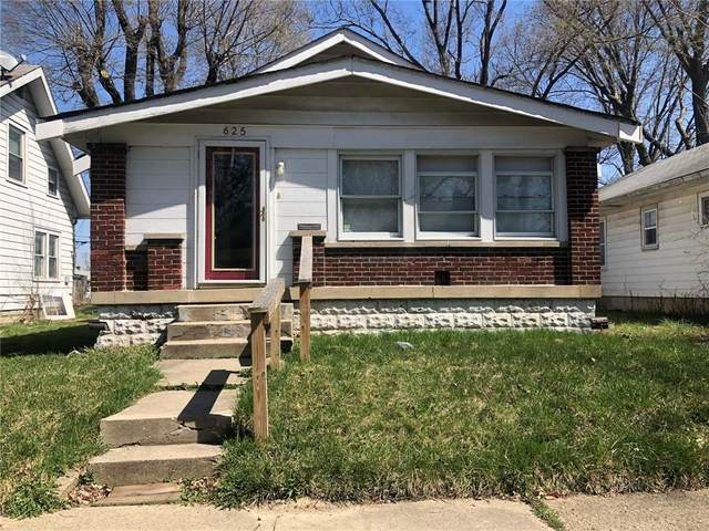 625 N Grant Avenue, Indianapolis, IN 46201 (MLS #21777873) :: Anthony Robinson & AMR Real Estate Group LLC