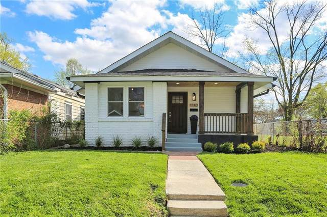 1163 W 36th Street, Indianapolis, IN 46208 (MLS #21777875) :: The Indy Property Source