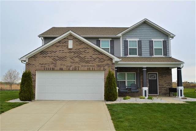 6446 W Waters Edge Court, Greenfield, IN 46140 (MLS #21777876) :: David Brenton's Team