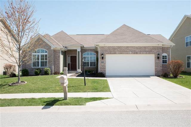 6307 Silver Leaf Drive, Zionsville, IN 46077 (MLS #21777885) :: AR/haus Group Realty