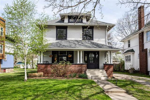 1124 E 35th Street, Indianapolis, IN 46205 (MLS #21777889) :: RE/MAX Legacy