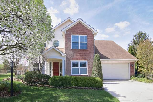 5821 Pheasant Court, Carmel, IN 46033 (MLS #21777893) :: The Indy Property Source