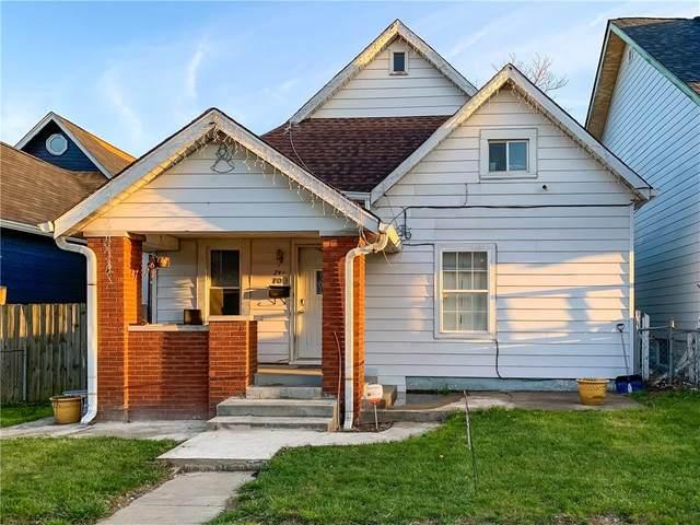 709 E Minnesota Street, Indianapolis, IN 46203 (MLS #21777937) :: Keller & Corbett Real Estate