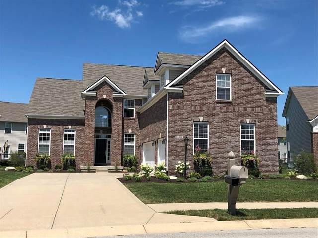 12338 Twyckenham Drive, Fishers, IN 46037 (MLS #21777977) :: The Evelo Team