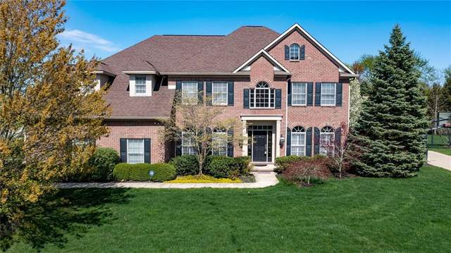 3798 Steeplechase Dr, Carmel, IN 46032 (MLS #21777988) :: The Indy Property Source