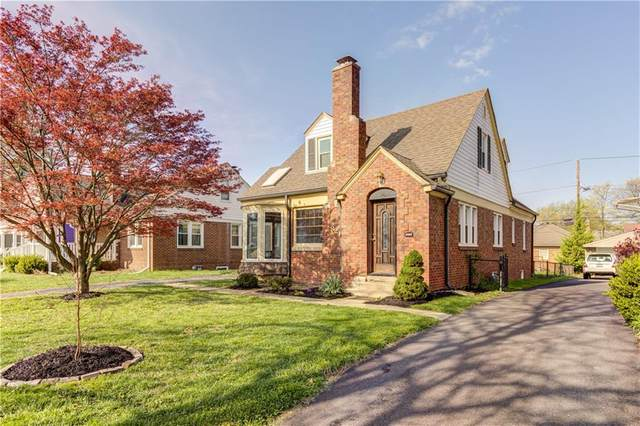 820 N Layman Avenue, Indianapolis, IN 46219 (MLS #21778002) :: Anthony Robinson & AMR Real Estate Group LLC