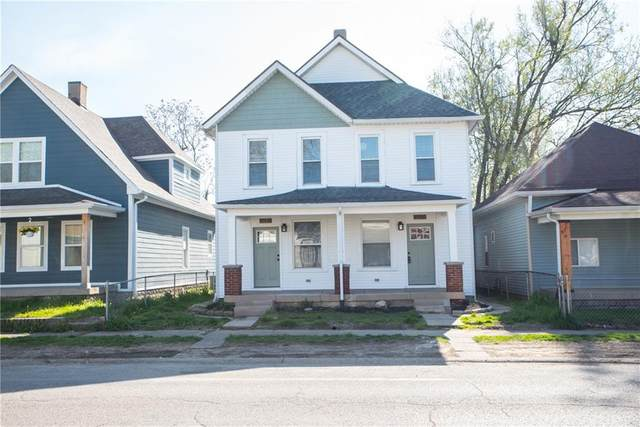 1021 Harlan Street, Indianapolis, IN 46203 (MLS #21778029) :: Anthony Robinson & AMR Real Estate Group LLC