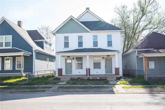 1021 Harlan Street, Indianapolis, IN 46203 (MLS #21778029) :: Pennington Realty Team