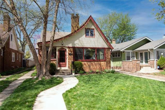6132 Haverford Avenue, Indianapolis, IN 46220 (MLS #21778057) :: Anthony Robinson & AMR Real Estate Group LLC
