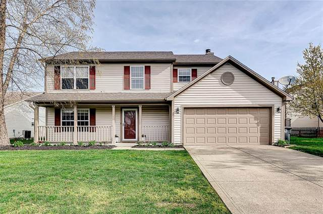 10142 Honeywell Lane, Indianapolis, IN 46236 (MLS #21778157) :: The Evelo Team