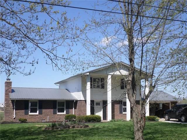 3502 E 1100 N, Alexandria, IN 46001 (MLS #21778206) :: The ORR Home Selling Team