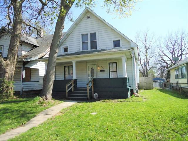 1233 Congress Avenue, Indianapolis, IN 46208 (MLS #21778216) :: The Indy Property Source