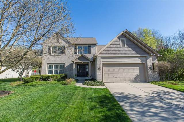 9120 Woodstock Way, Fishers, IN 46037 (MLS #21778224) :: The Indy Property Source