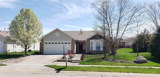 11811 Shady Meadow Place, Fishers, IN 46037 (MLS #21778236) :: The Indy Property Source