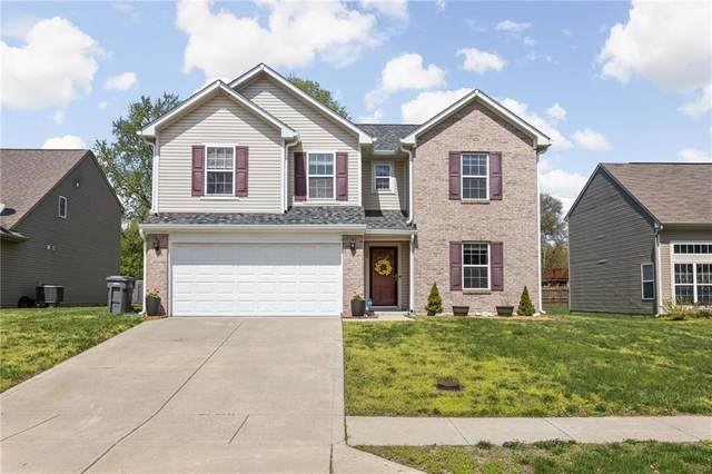 128 Meridian Gardens Lane, Indianapolis, IN 46227 (MLS #21778238) :: Pennington Realty Team