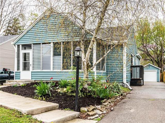 4933 Kingsley Drive, Indianapolis, IN 46205 (MLS #21778324) :: RE/MAX Legacy