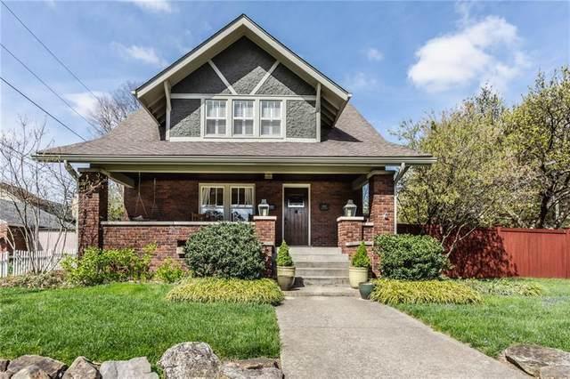 4546 N Pennsylvania Street, Indianapolis, IN 46205 (MLS #21778356) :: Keller & Corbett Real Estate