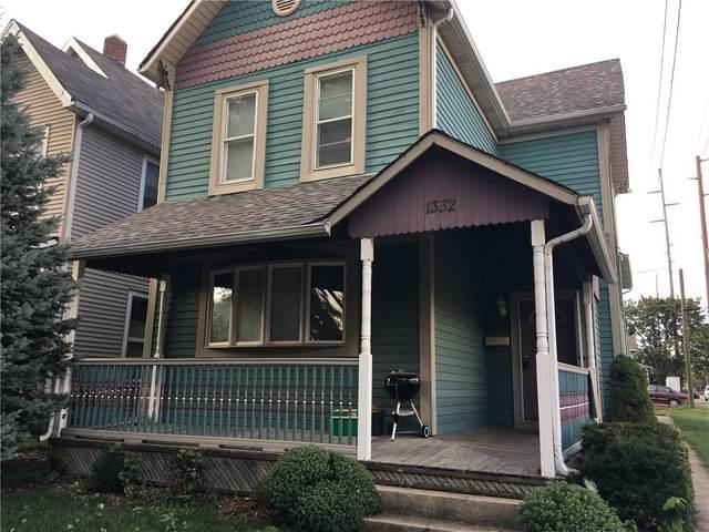 1332 E Ohio Street, Indianapolis, IN 46202 (MLS #21778358) :: RE/MAX Legacy