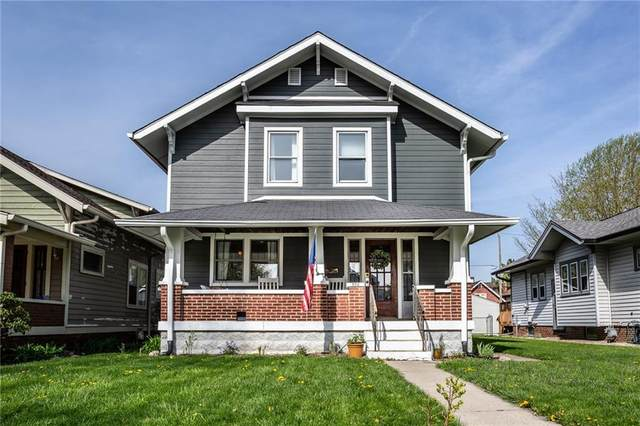 726 N Riley Avenue, Indianapolis, IN 46201 (MLS #21778402) :: Anthony Robinson & AMR Real Estate Group LLC