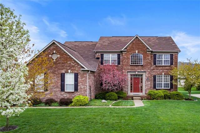 12870 Desplaines Court, Fishers, IN 46037 (MLS #21778428) :: The Indy Property Source