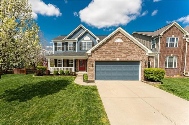 3456 Modesto Lane, Westfield, IN 46074 (MLS #21778449) :: The Indy Property Source