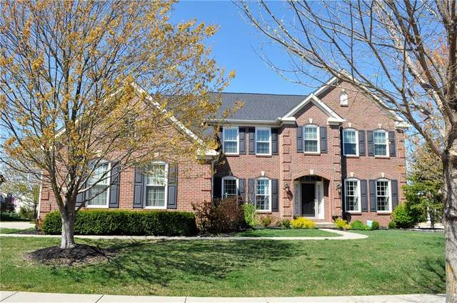 2736 Heathermoor Park Drive S, Carmel, IN 46074 (MLS #21778469) :: The Indy Property Source