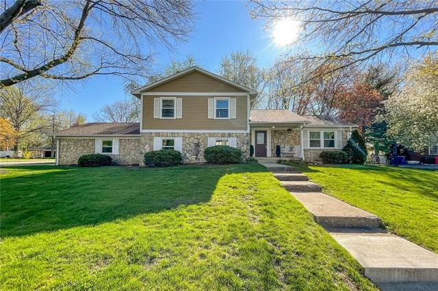 11007 E Lakeshore Drive, Carmel, IN 46033 (MLS #21778472) :: The Indy Property Source