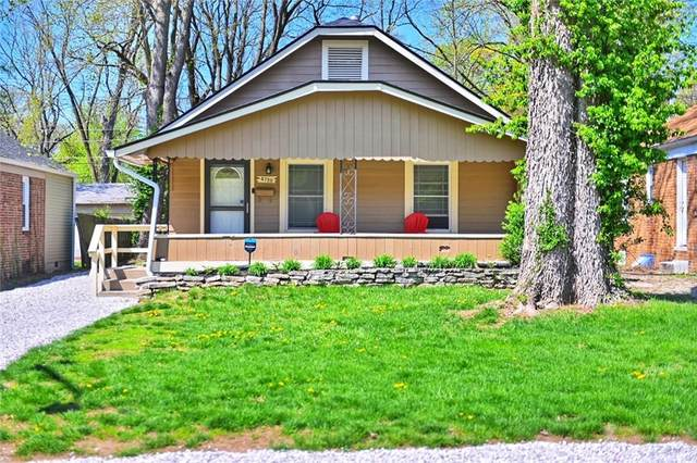 4720 Rosslyn Avenue, Indianapolis, IN 46205 (MLS #21778474) :: RE/MAX Legacy