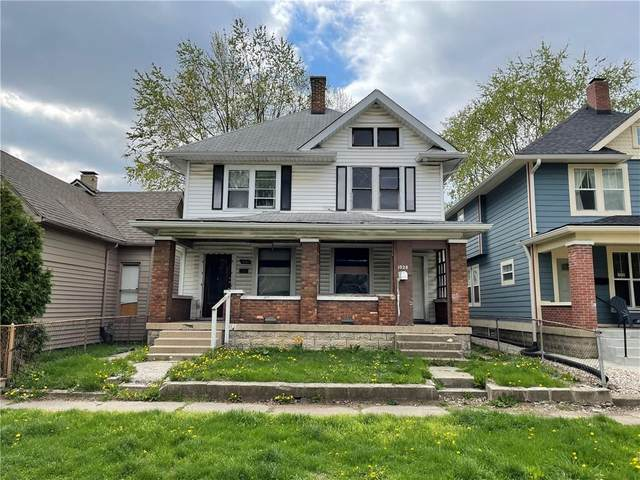 1030-1028 S Randolph Street, Indianapolis, IN 46203 (MLS #21778483) :: Pennington Realty Team