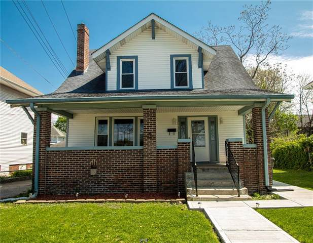 1415 E Fairfield Avenue, Indianapolis, IN 46205 (MLS #21778515) :: Richwine Elite Group