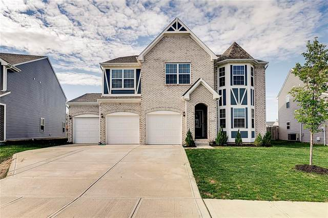 1664 Woodside Circle, Franklin, IN 46131 (MLS #21778517) :: The Indy Property Source