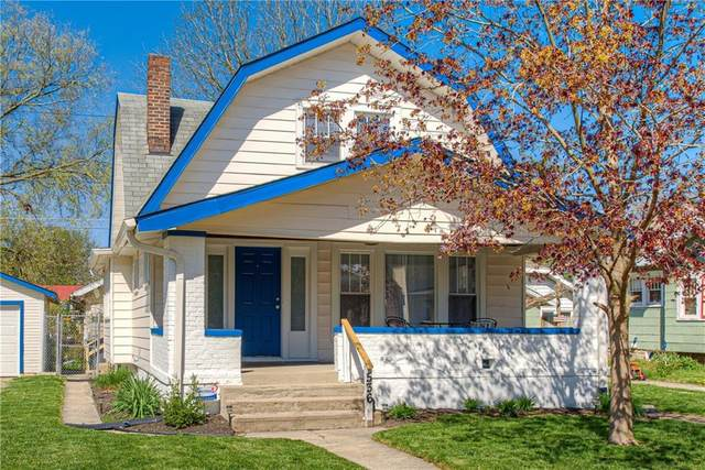 536 N Wallace Avenue, Indianapolis, IN 46201 (MLS #21778523) :: Anthony Robinson & AMR Real Estate Group LLC