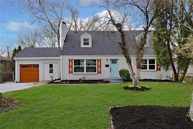 6104 N Oxford Street, Indianapolis, IN 46220 (MLS #21778535) :: Heard Real Estate Team | eXp Realty, LLC