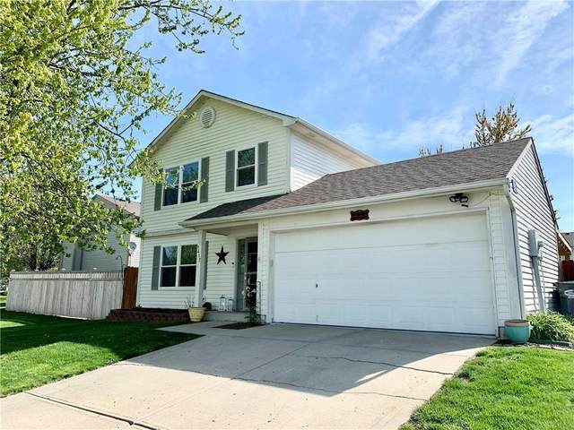 1417 Green Spring Way, Greenwood, IN 46143 (MLS #21778547) :: Mike Price Realty Team - RE/MAX Centerstone