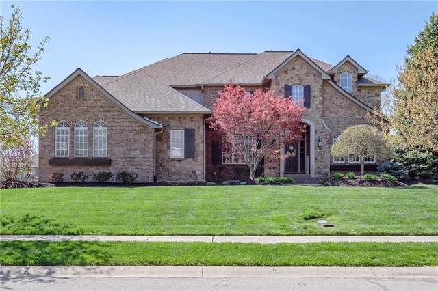 16568 Brookhollow Drive, Westfield, IN 46060 (MLS #21778556) :: The Evelo Team