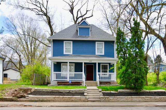 1601 Nowland Avenue, Indianapolis, IN 46201 (MLS #21778563) :: The Indy Property Source