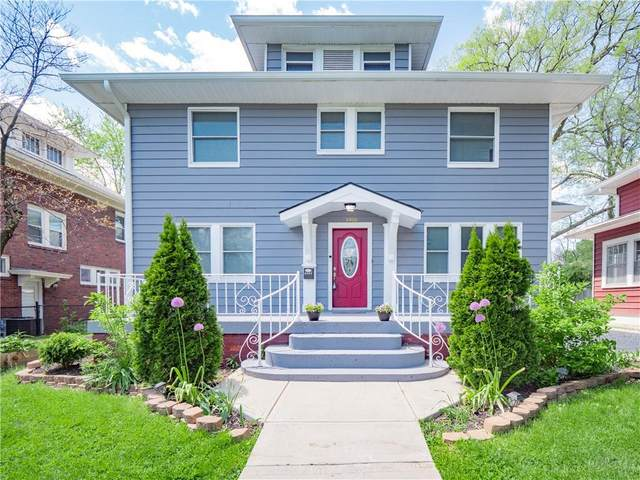 3908 Guilford Avenue, Indianapolis, IN 46205 (MLS #21778575) :: RE/MAX Legacy