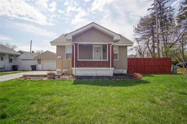 1407 Albany Street, Beech Grove, IN 46107 (MLS #21778582) :: Anthony Robinson & AMR Real Estate Group LLC