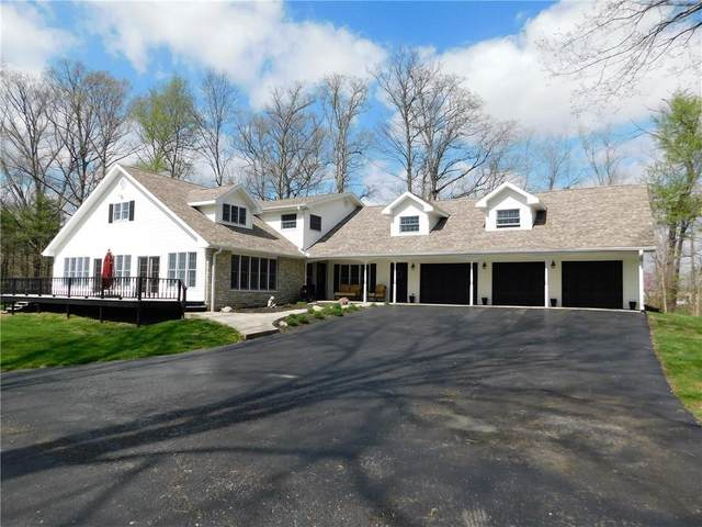 6054 E Us Highway 40, Fillmore, IN 46128 (MLS #21778613) :: The Indy Property Source