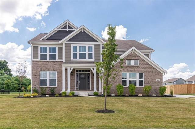 6052 Woodbrush Way, Mccordsville, IN 46055 (MLS #21778616) :: The Evelo Team