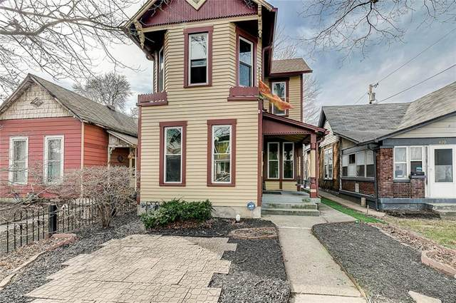 824 S Noble Street, Indianapolis, IN 46203 (MLS #21778628) :: The Indy Property Source