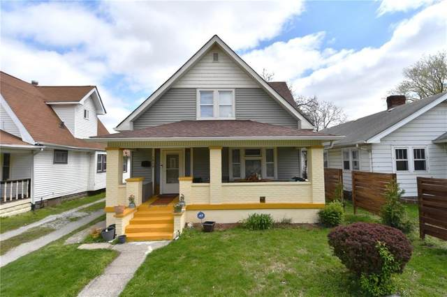 1839 E Riverside Drive, Indianapolis, IN 46202 (MLS #21778644) :: The Indy Property Source