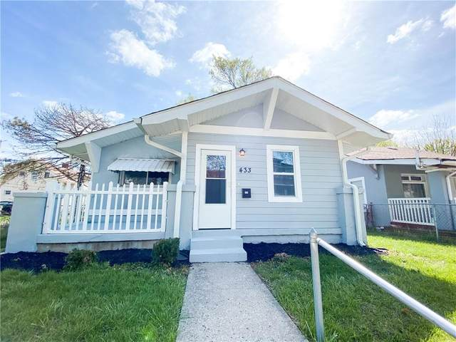 433 N Bradley Avenue, Indianapolis, IN 46201 (MLS #21778653) :: The Indy Property Source