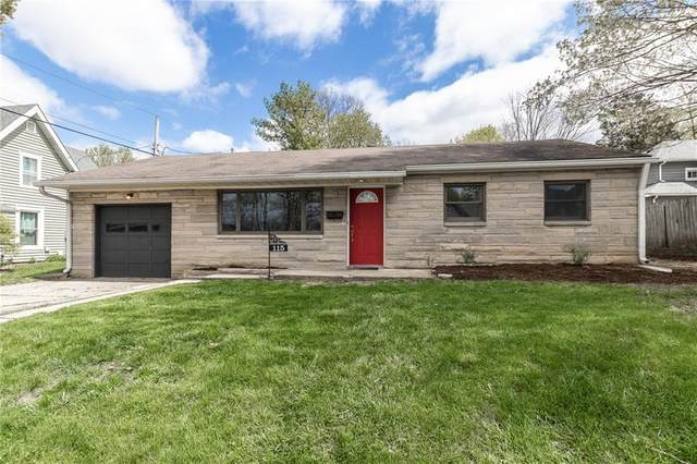 115 N Spring Street, Greenfield, IN 46140 (MLS #21778657) :: Mike Price Realty Team - RE/MAX Centerstone